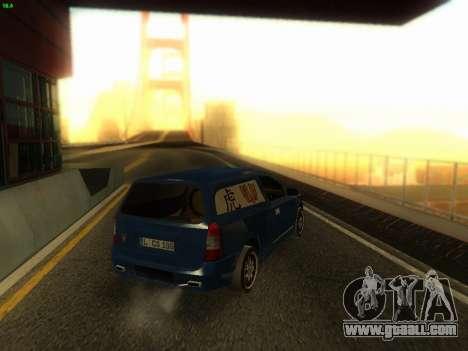 Opel Astra G Caravan Tuning for GTA San Andreas left view