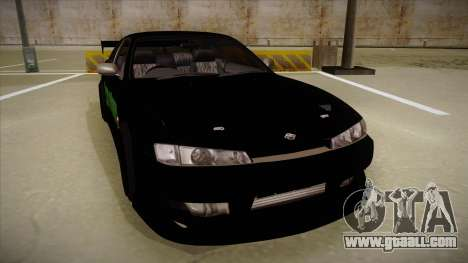 Nissan s14 200sx [WAD]HD for GTA San Andreas left view