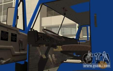 KAMAZ 54115 for GTA San Andreas back view