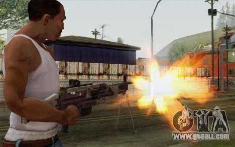 Military gun for GTA San Andreas third screenshot