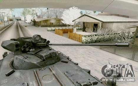 BTR-80 for GTA San Andreas bottom view