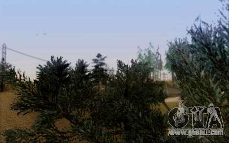 New vegetation 2013 for GTA San Andreas eighth screenshot