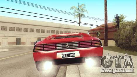 Ferrari 348 TB for GTA San Andreas left view