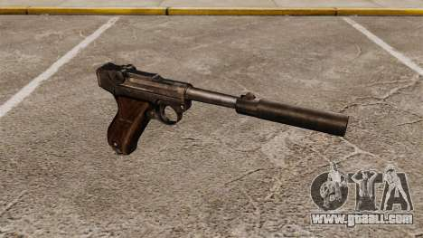 Pistol Parabellum v2 for GTA 4