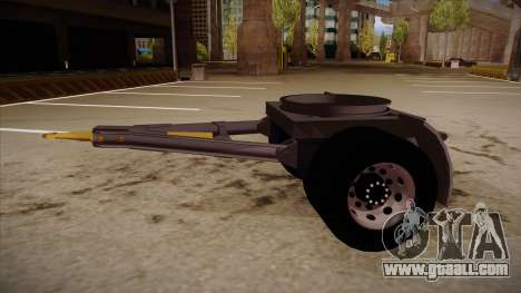 Connecting part of a timber truck trailer to 264 for GTA San Andreas