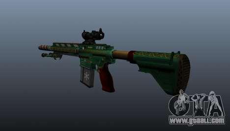 HK417 rifle v3 for GTA 4 second screenshot