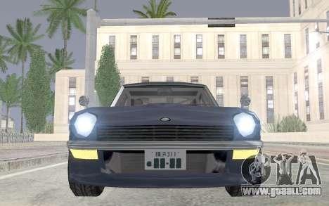 Nissan Fairlady Z AKUMA for GTA San Andreas right view