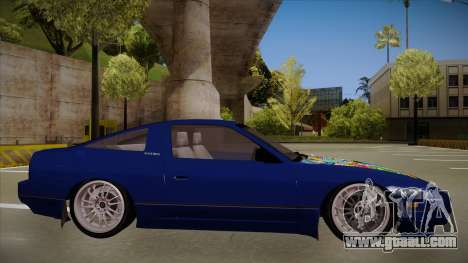 Nissan 240sx JDM style for GTA San Andreas back left view