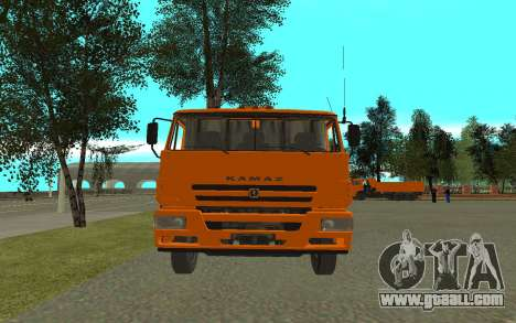 KAMAZ 6520 Cement for GTA San Andreas right view