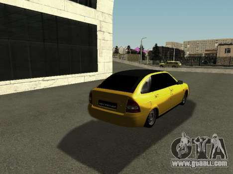 VAZ-2172 for GTA San Andreas back left view