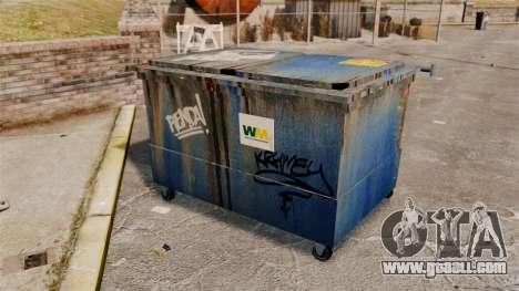 Dumpsters, Waste Management Inc. for GTA 4 forth screenshot