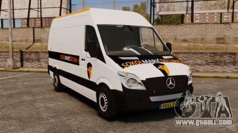 Mercedes-Benz Sprinter Sokol Maric Security for GTA 4