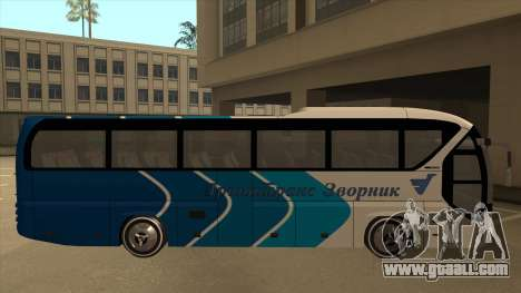 Neoplan Tourliner - Drinatrans Zvornik for GTA San Andreas back left view