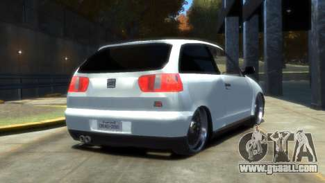 Seat Ibiza for GTA 4 left view