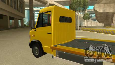 Mercedes-Benz Vario Towtruck for GTA San Andreas back view
