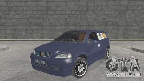 Opel Astra G Caravan Tuning for GTA San Andreas