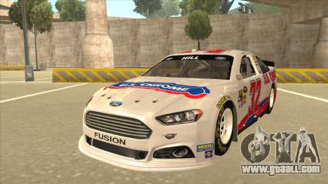 Ford Fusion NASCAR No. 32 U.S. Chrome for GTA San Andreas