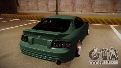 Toyota Celica GT4 for GTA San Andreas back view