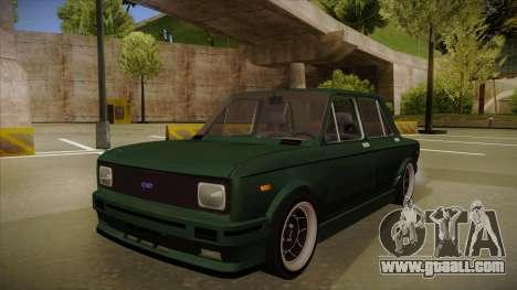 Fiat 128 Europe V Tuned for GTA San Andreas