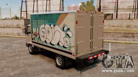 New graffiti for Mule for GTA 4 right view