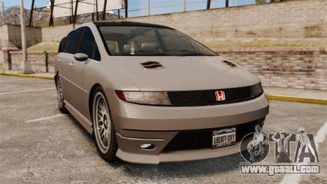 Dinka Honda Odyssey JDM Version for GTA 4