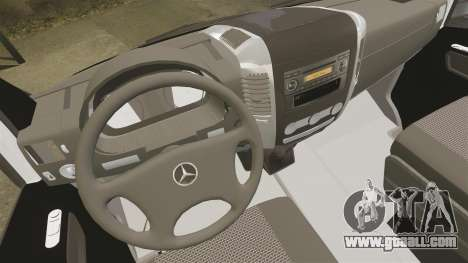 Mercedes-Benz Sprinter Sokol Maric Security for GTA 4 inner view