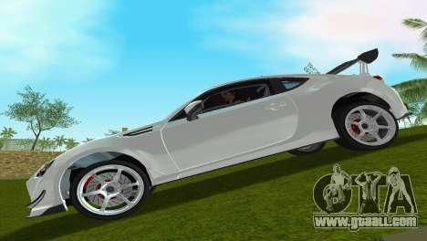 Subaru BRZ Type 4 for GTA Vice City back left view