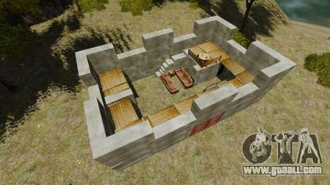 Castle for GTA 4 second screenshot