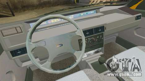 Fiat Tempra TR KeremAkca Edit for GTA 4 back view