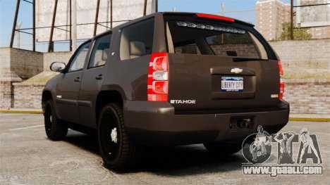 Chevrolet Tahoe Slicktop [ELS] v2 for GTA 4 back left view