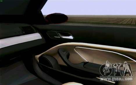 BMW M3 Cabrio for GTA San Andreas upper view