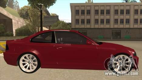 BMW M3 Tuned for GTA San Andreas back left view