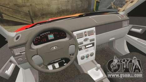 Lada Priora Cuba for GTA 4 upper view