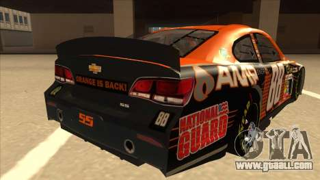 Chevrolet SS NASCAR No. 88 Amp Energy for GTA San Andreas right view