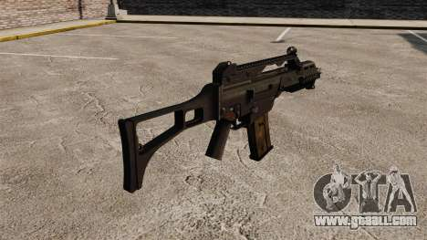 HK G36C assault rifle v1 for GTA 4 second screenshot