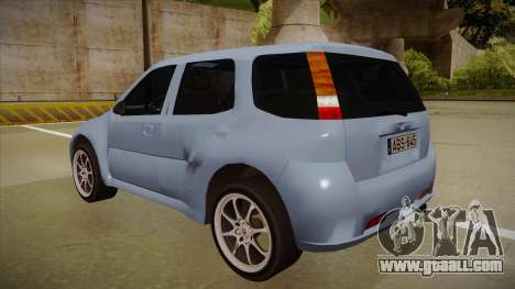 Suzuki Ignis for GTA San Andreas back view