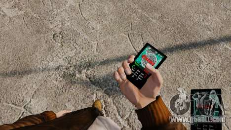 Themes for phone Vampire The Masquerade for GTA 4 sixth screenshot