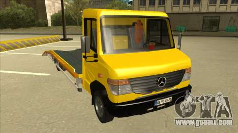 Mercedes-Benz Vario Towtruck for GTA San Andreas left view