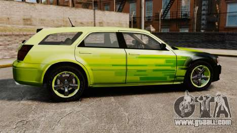 Dodge Magnum West Coast Customs for GTA 4 left view