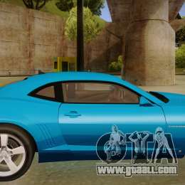 Chevrolet Camaro for GTA San Andreas back left view