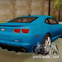 Chevrolet Camaro for GTA San Andreas back view
