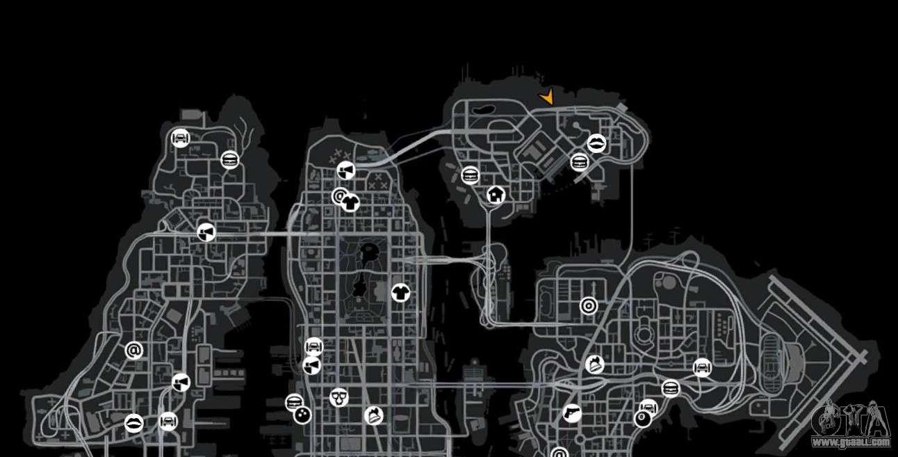 зеленые круги на карте в гта 5 является мышечным органом