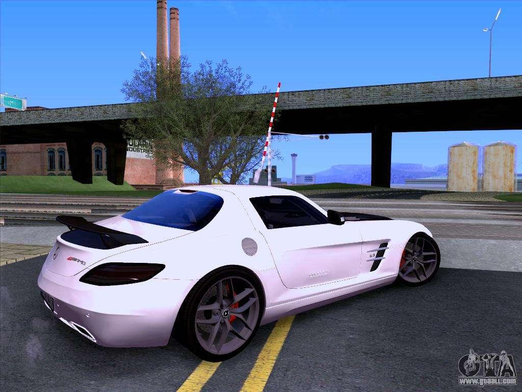 Mercedes benz sls amg gt 2014 final edition for gta san for Mercedes benz sls amg gt