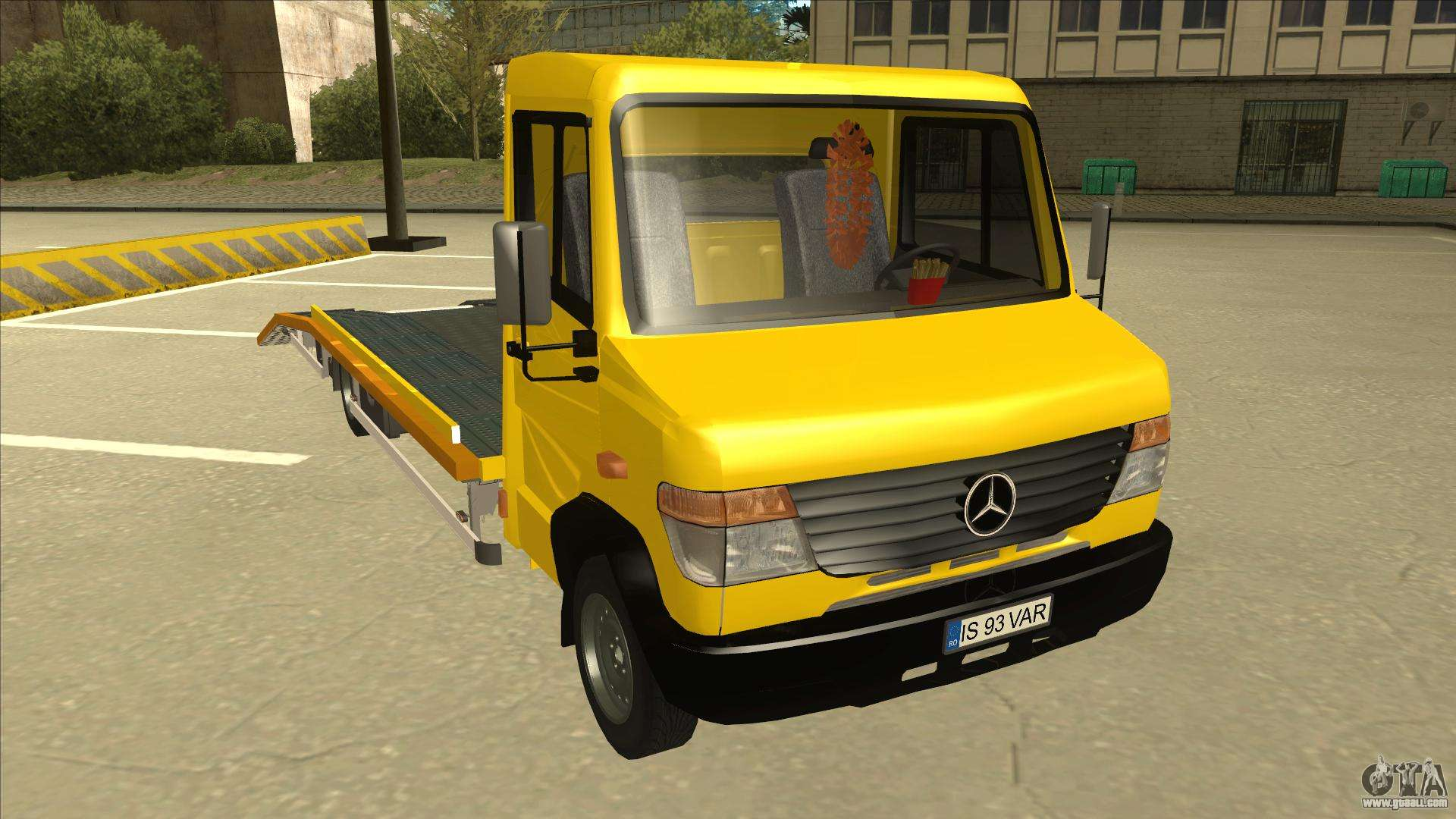 mercedes benz vario towtruck for gta san andreas. Black Bedroom Furniture Sets. Home Design Ideas