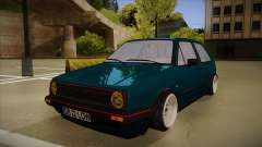 Volkswagen Golf MK2 Stance Nation by Razvan11 for GTA San Andreas