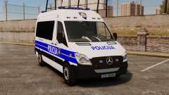 Mercedes-Benz Sprinter Croatian Police [ELS]
