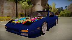 Nissan 240sx JDM style for GTA San Andreas