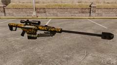 The Barrett M82 sniper rifle v12 for GTA 4