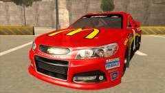 Chevrolet SS NASCAR No. 1 McDonalds for GTA San Andreas