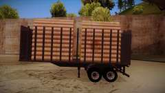 Semi-trailer timber truck for MB 2644 trem frent